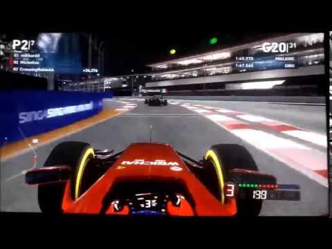 Campionato GP Club F1 2014 Xbox360 - Round 19 - Singapore GP