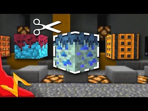 Minecraft - DESIGN your own Blocks In-Game