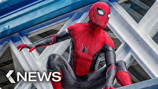 Spider-Man MCU Monument, IT 2 Supercut, The Irishman, New Michael Bay Movies... KinoCheck News