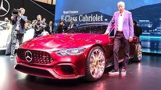 5 Best Features Mercedes AMG GT Concept Review Hybrid New Mercedes CLS Video 2017 Geneva CARJAM