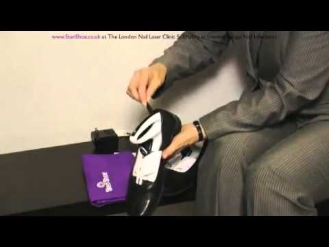 How to use the SteriShoe   The revolutionary way of keeping shoes fungus and bacteria free