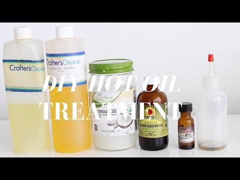 DIY Hot Oil Treatment for Dry Brittle Hair | Natural Hair | MissT1806