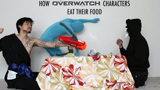 How Overwatch Characters Eat Their Food - With Lethal Soul