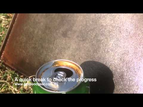 Get Good Gear: How to restore your cast iron BBQ plate with COKE
