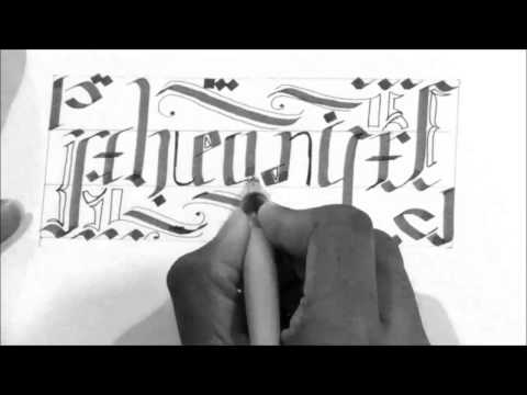How to make an Ambigram | With the word 'Pheonix' | Easy and simple.