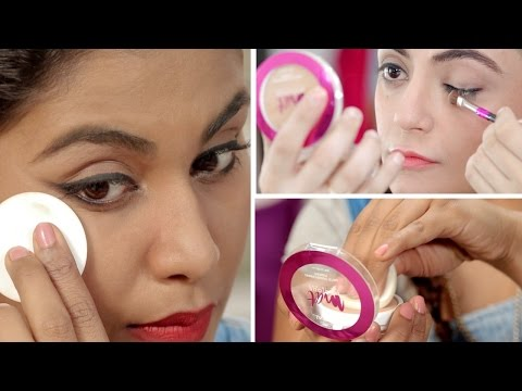 7 Genius Ways To Use A Compact Powder | Makeup Hacks