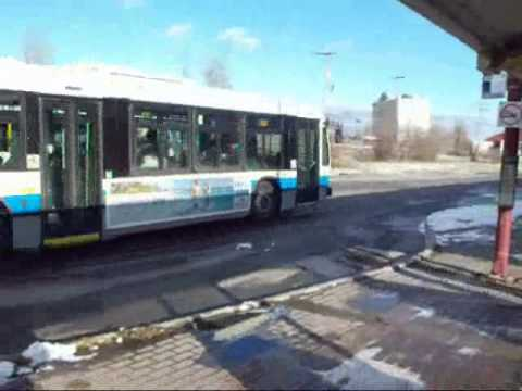 Montreal city bus video compilation