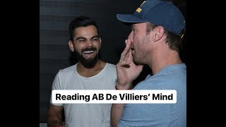 Reading AB De Villiers' Mind | Karan Singh Magic