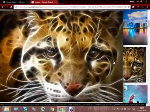 zoom an image on hover Tutorial 2016 - 2017