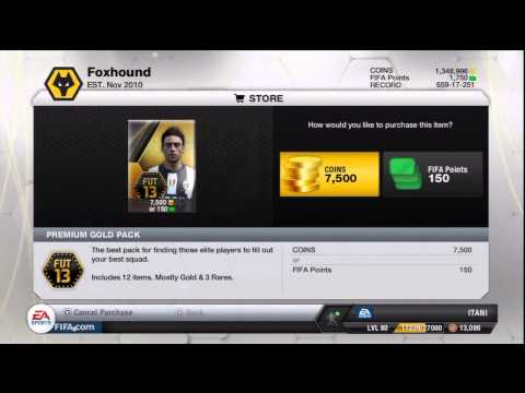 FIFA 13 Pack Opening Ultimate Team Road To Ronaldo Episode 26