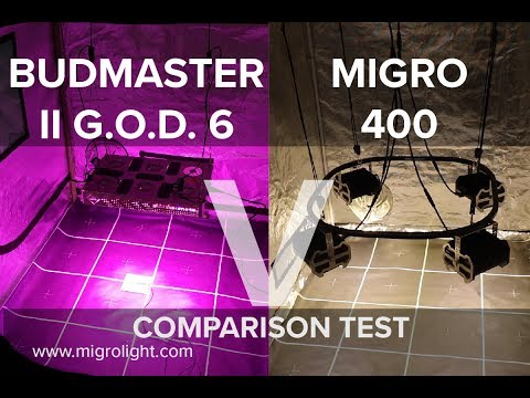 Budmaster GOD 6 vs MIGRO 400