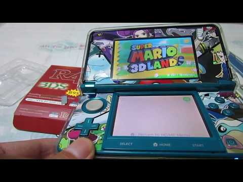 R4i B9S card 3DS games tested on 3DS Sys 11.6.0-39J
