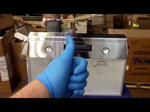 CLEANING A WALL MOUNT HOOD