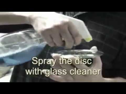 Remove CD scratches with Banana fruit