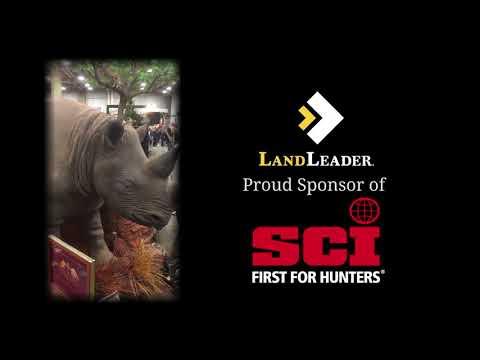 LandLeader Proud Sponsor of Safari Club International