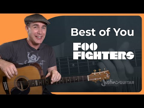 The Best Of You - Foo Fighters - Beginner Acoustic Guitar Lesson Tutorial (BS-020)