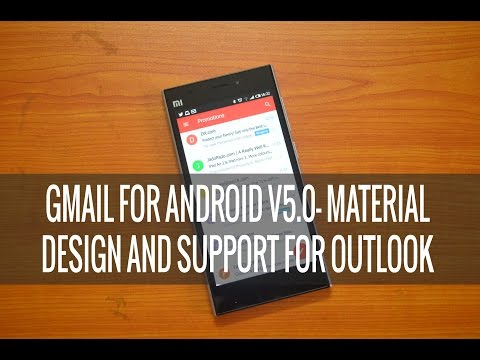 Gmail for Android v5.0- How to configure Outlook and Yahoo Email Accounts