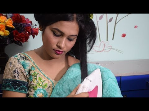 HOW TO STRAIGHT HAIR WITH A CLOTH IRON/100% WORKS/INDIAN BEAUTY SOLUTIONS