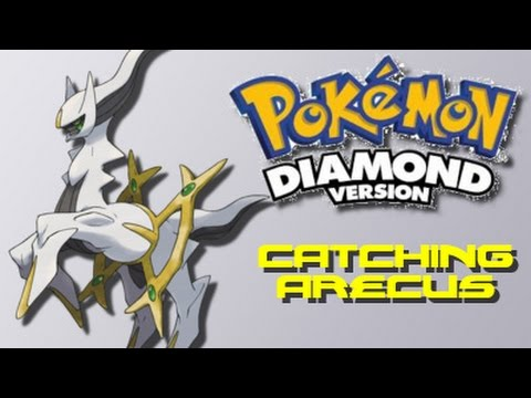 Pokemon Diamond: How to Catch Arecus (Using Action Replay)