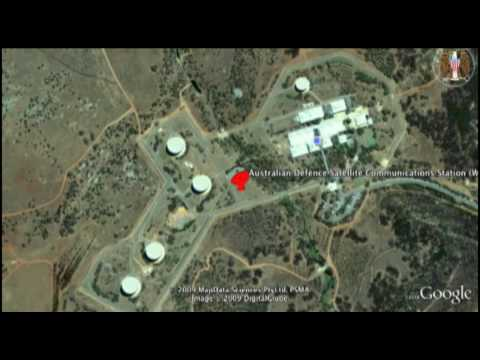 ECHELON Locations (Google Earth)