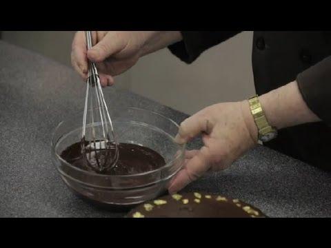 How to Make a Ganache Glaze : Chocolate Truffles & Ganache