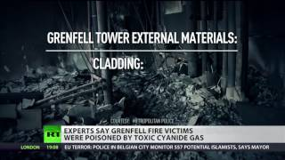 Grenfell Tower fire victims poisoned by cyanide - experts