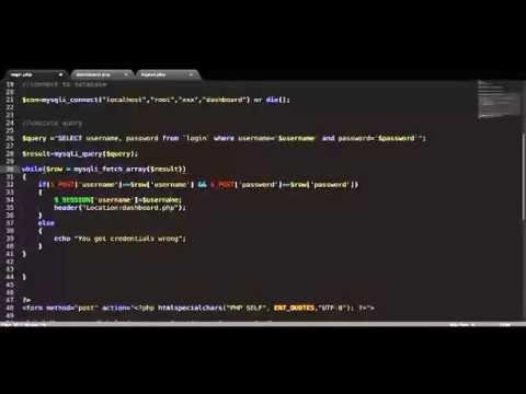 PHP Mysqli Login