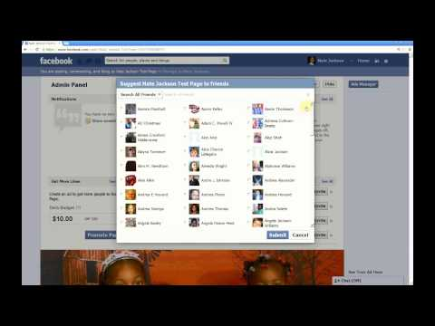 Code to Invite All Friends to Facebook Fan Page