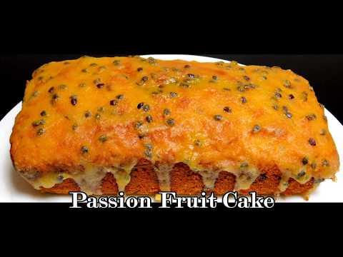 Passion Fruit Cake Recipe   Whole Wheat Fruit Cake Recipe
