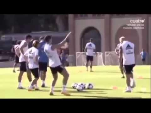 Cristiano Ronaldo skills in Los Angeles