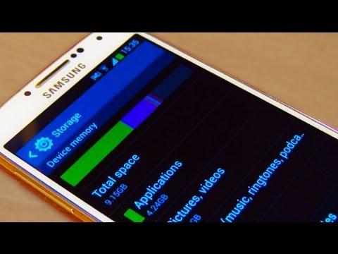 Samsung Galaxy S4 IV Not Enough Storage?