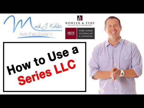 How to Use a Series LLC   Mark J Kohler   Tax & Legal Tip