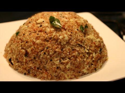 How To Make Sooji Gothambu (Broken Wheat) Upma