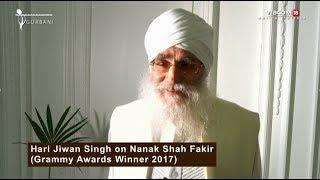 Nanak Shah Fakir | Grammy Award Winner Hari Jiwan Singh talks about the film