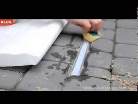 Adding KLUS LED Lights Into Cobblestones Path & Driveways