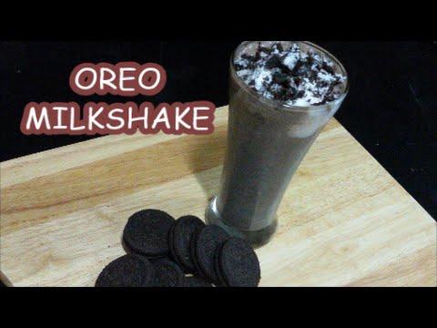 OREO MILKSHAKE / 3 Ingredients shake!