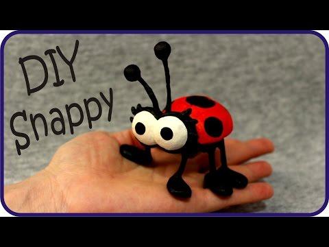 ❣DIY Smurfs Snappy Bug Tutorial❣