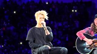 Love Yourself Justin Bieber Houston, Tx 11.19.15