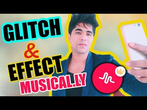 GLITCH TRANSITION TUTORIAL IN HINDI  | HOW TO ADD EFFECTS & GLITCH ON YOUR MUSICAL.LY! *NEW UPDATE