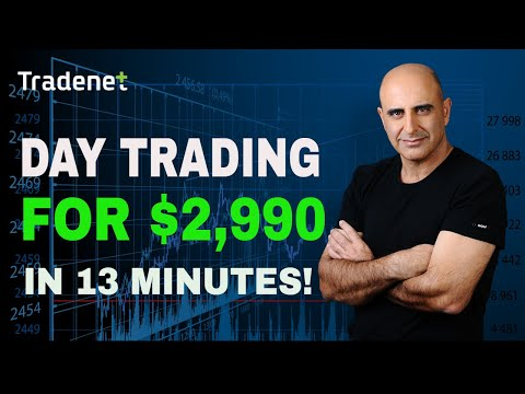Day Trading Stocks for $2,900 in 13 Minutes