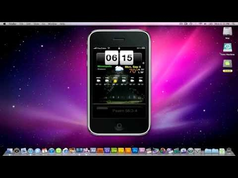 MUST SEE!!!!  -  how to CUSTOMIZE LOCKSCREEN with updated iOS4 (No Computer Needed)