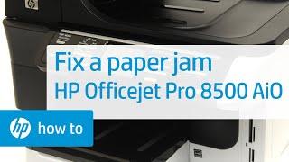 HP OfficeJet Pro 8500 Paper Jam Mystery Solved - PakVim net HD