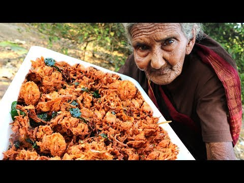 ONION PAKODA | BY OUR 106 GRANNY |MASTANAMMA