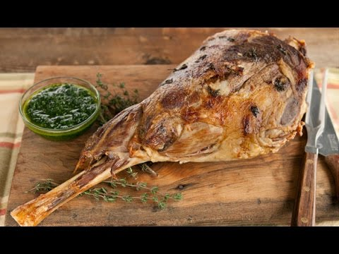 Roasted Leg Of Goat | Roasted Lamb | Easy Cook With Atul Kochhar