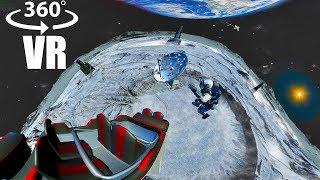 Moon Virtual Reality Roller Coaster: 360 video