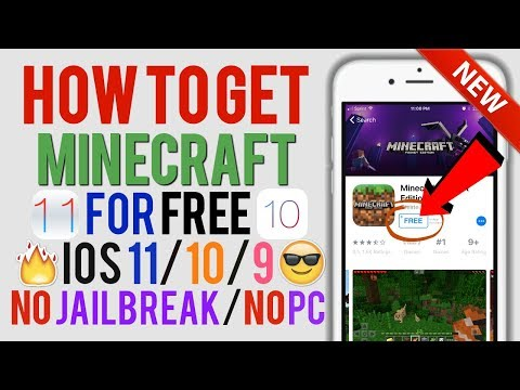 How To Get Minecraft PE For FREE On iOS 11 / 10 / 9! (iPhone / iPad / iPod) | Apple Advanced l