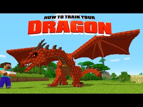 Minecraft - HOW TO TRAIN YOUR DRAGON - Volcano Dragons ! [19]
