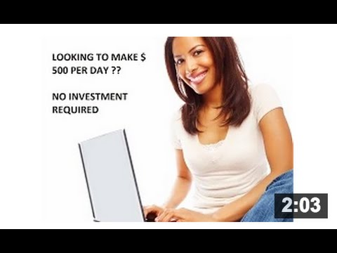 How To Make MONEY Online Free - [PART TIME or FULL TIME] - Earn $100-$500 Daily