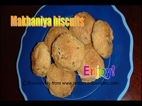 How to make Makhania Biscuits - Namkeen Khari Batasa biscuits - Butter Biscuits Recipe by Bhavna