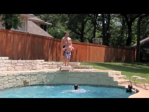 Pool Kid Toss